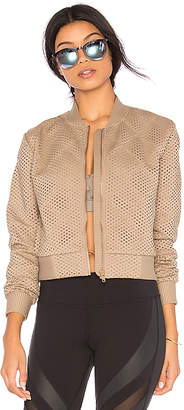 alo Mytyh Jacket in Taupe $180 thestylecure.com