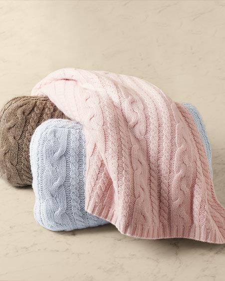 Cashmere Cable-Knit Set