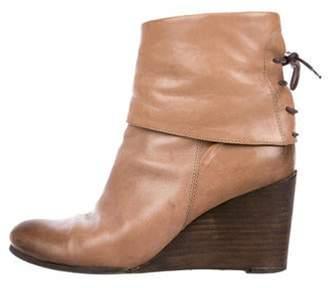 Alberto Fermani Distressed Leather Boots Brown Distressed Leather Boots
