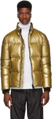 Mackage Gold Lustrous Greg Down Jacket