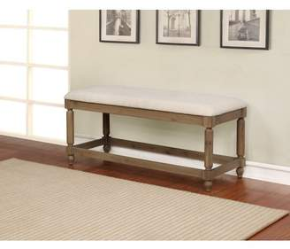 Linon Ember Washed Finish Bench
