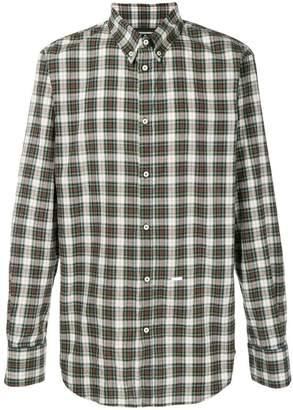 DSQUARED2 plaid long-sleeve shirt