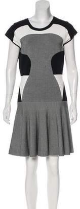Diane von Furstenberg Paneled Renee Dress