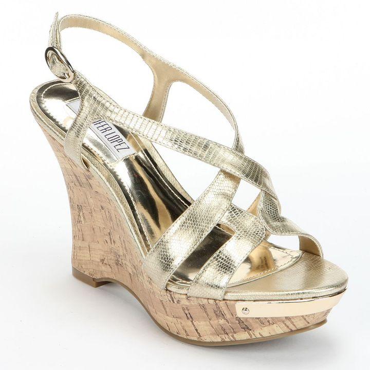 JLO by Jennifer Lopez platform wedge sandals - women