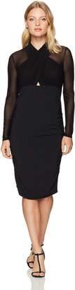 Bardot Women's Allure Ls Wrap Dress