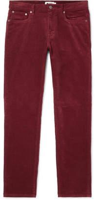 Wilson NN07 Slim-Fit Stretch-Cotton Corduroy Trousers
