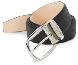 Bruno Magli Bi-Color Leather Belt