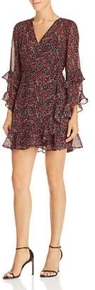 The Fifth Label Elective Ruffled Floral Wrap Dress