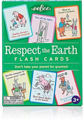Eeboo Respect The Earth Flash Cards $12 thestylecure.com