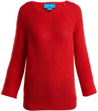 MiH Jeans Bowen boat-neck mohair-blend sweater