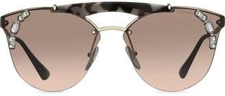 Prada crystal-embellished sunglasses