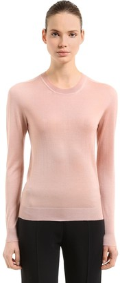 Jil Sander Cashmere & Silk Blend Knit Sweater