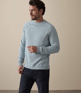 Reiss Austin Garment Dyed Sweatshirt