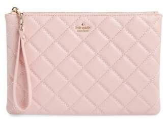 Kate Spade Emerson Place Filey Quilted Leather Clutch