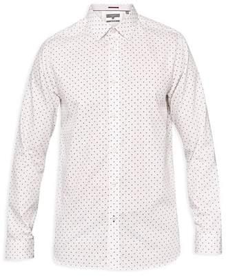 Ted Baker Saandy Polka Dot Phormal Regular Fit Dress Shirt