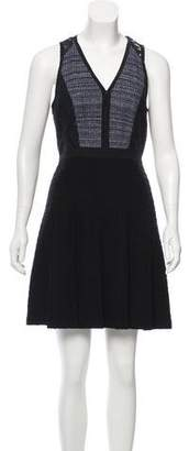 Rebecca Taylor Lace Embroidered Mini Dress
