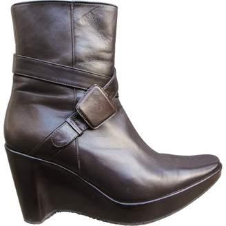 Stephane Kelian Leather Buckled Boots