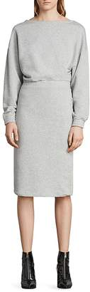 AllSaints Chrissy Sweatshirt Dress