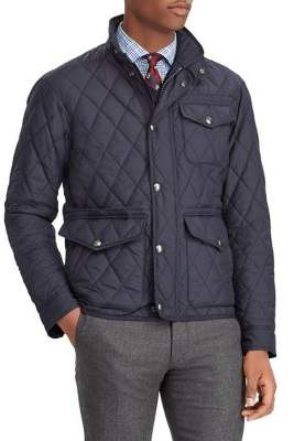Polo Ralph Lauren Quilted Long-Sleeve Jacket