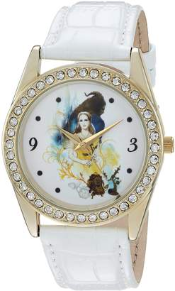 Disney Women's 'Beauty' Quartz Metal Casual Watch, Color: (Model: WDS000313)