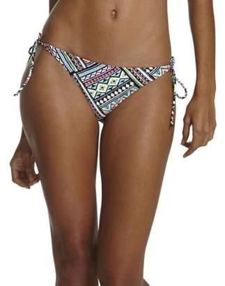 Op Juniors' Sombrero Tribal Print Side Tie Bikini Swimsuit Bottom