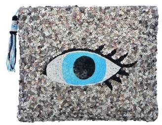 Guadalupe Design Ankhe' Evil-Eye Clutch