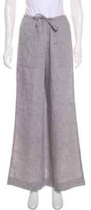 Lafayette 148 Linen Wide-Leg Pants