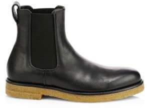 Vince Cressler Leather Chelsea Boots