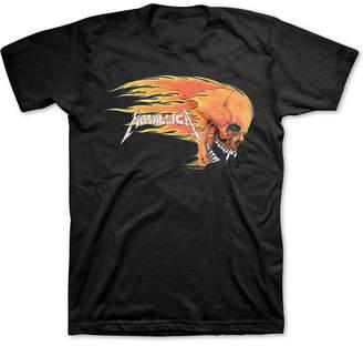 Fire Skull Metallica Men Graphic T-Shirt