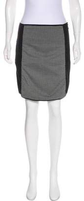 Laundry by Shelli Segal Woven Mini Skirt