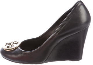Tory BurchTory Burch Leather Sophie Wedges