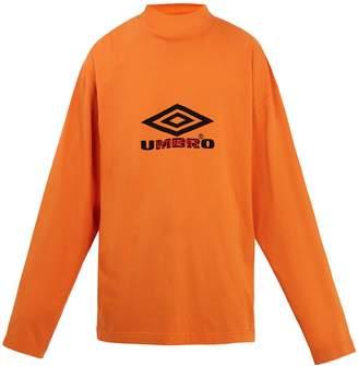Vetements X Umbro long-sleeved jersey T-shirt