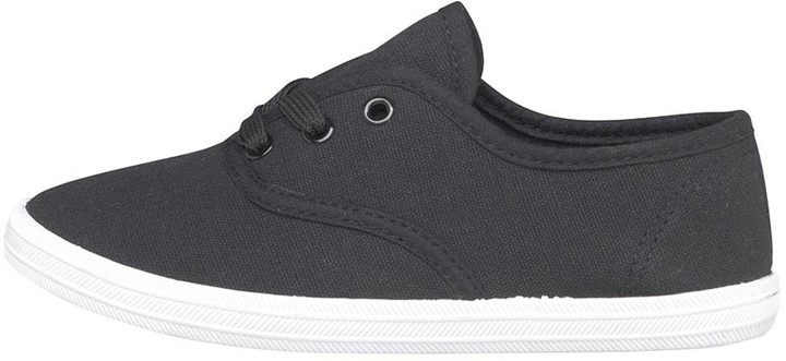 Mad Wax Infant Boys Canvas Shoes Black/White