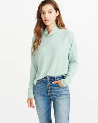 Abercrombie & Fitch Mock Neck Sweater