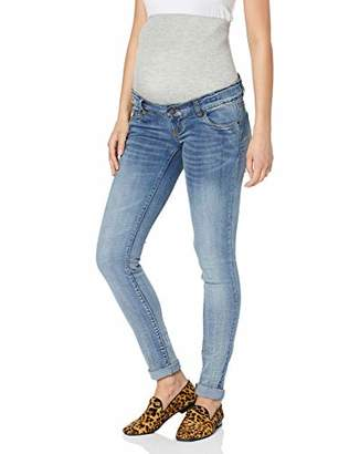 56a2ee842c819 Mama Licious Mamalicious NOS Women's Mlgolden Slim Jeans Noos Maternity  Trousers, Light Blue Denim,