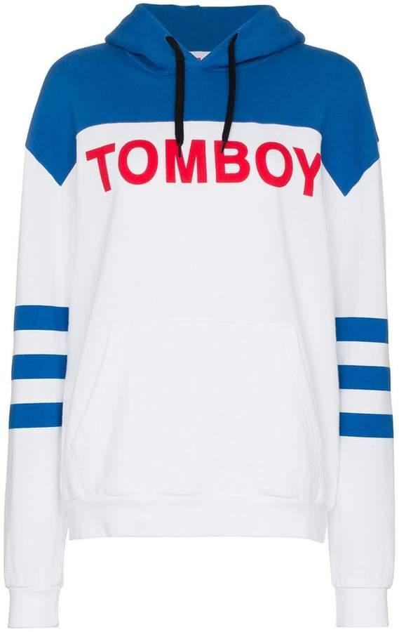 Tomboy Bob cotton hoodie