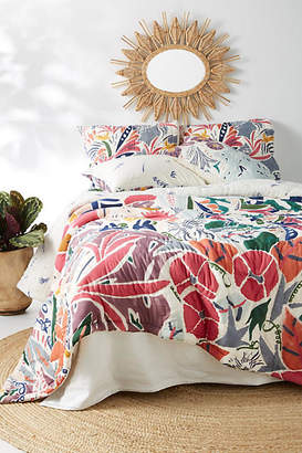 Anthropologie Artisan Quilts by Alcea Quilt