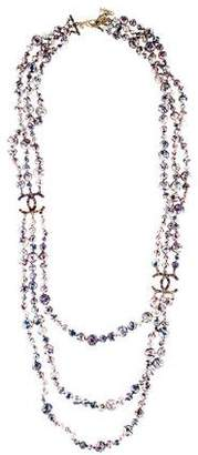 Chanel Graffiti Multistrand Necklace