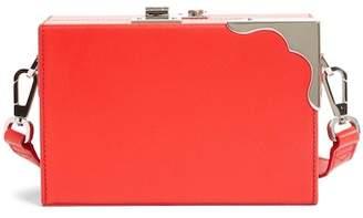 Calvin Klein Mini Calfskin Box Shoulder Bag