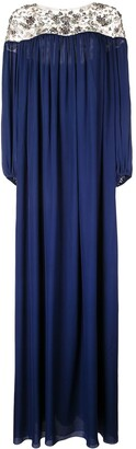 Marchesa tunic gown