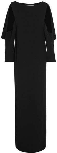 ChalayanChalayan - Cutout Crepe Gown - Black