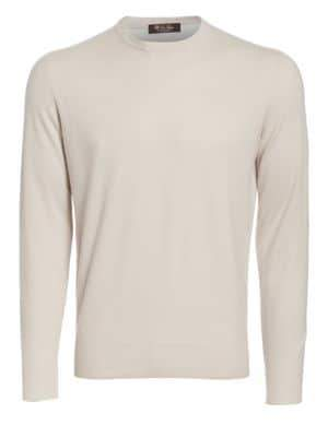 Loro Piana Girocollo Cashmere Sweater