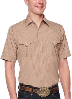 Ely Cattleman Short Sleeve Tonal Snap-Front Shirt