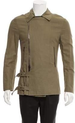 John Varvatos Moto Zip-Up Jacket