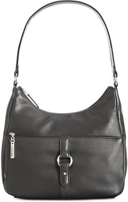 Giani Bernini Nappa Leather Ring Hobo, Created for Macy's $189.50 thestylecure.com