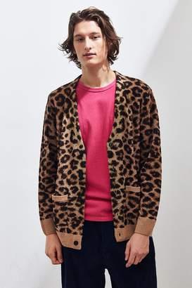 Lazy Oaf Hairy Leopard Cardigan