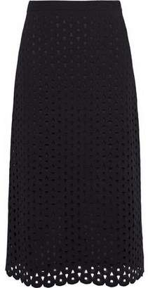 Derek Lam Cutout Stretch-knit Skirt