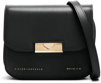 Victoria Beckham Eva Crossbody in Black | FWRD