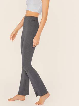 Shein Wide Waistband Heather Grey Pants