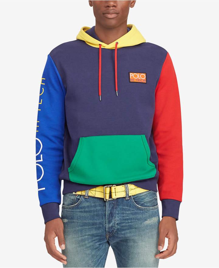 Polo Ralph Lauren Men's Big & Tall Hi Tech Colorblocked Hoodie